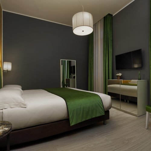 Our new Deluxe room in dependance